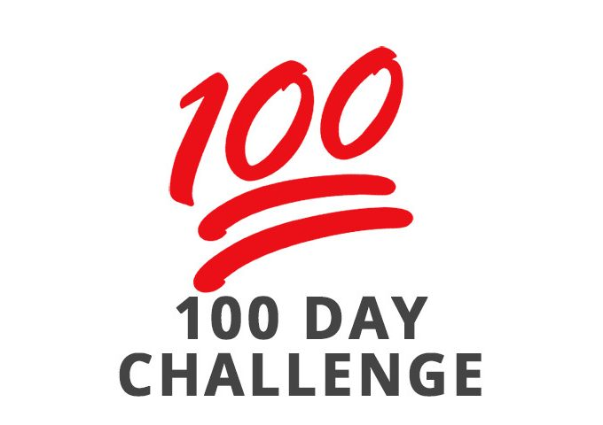 100 Day Challenge Begins Now