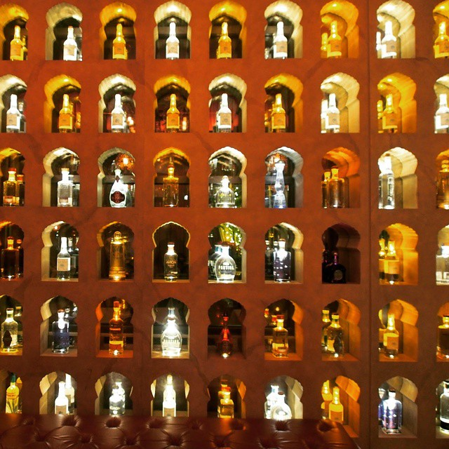 The impressive wall of tequilas at Red O in Newport Beach.  If you take dessert out of the equation the experience and the food was spectacular.  Sorry, Rick, but that flan has to go or you need a new name for it. Besides that… #WOW its like you brought me the motherland in a plate. #amazing