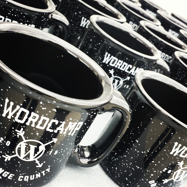 Some really cool #SWAG at #wcoc. Tons of T-shirts, mugs, even socks!
