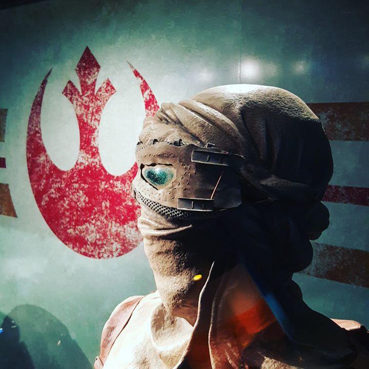 #starwars #Rey #disneyland