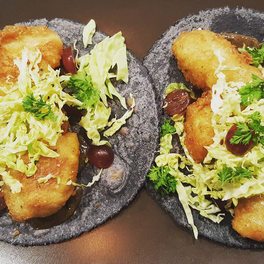 Crispy fish tacos. Another #amazing item at Taco Maria.