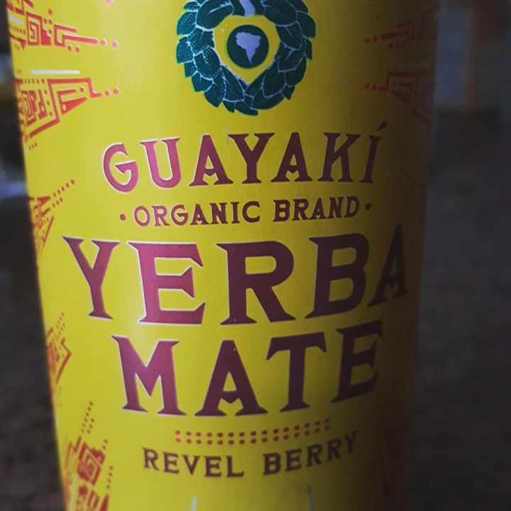 Have you tried one of these before? It's like a rockstar, monster or redbull but without all the artificial ingredients.  Some mivht call it a good-for-you energy drink.  #yerbamate