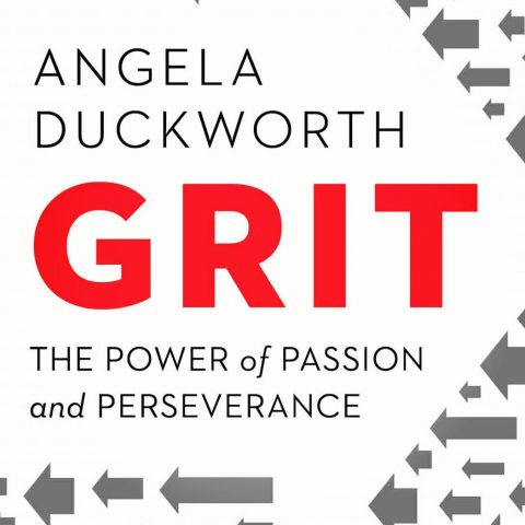 Cropped square cover of the book Grit, by Angela Duckworth