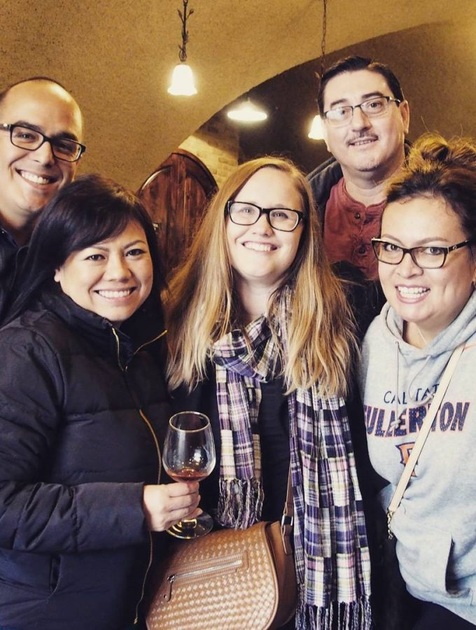 Wine tasting in #Temecula with friends. #goodtimes. #goodwine #winter #winetasting