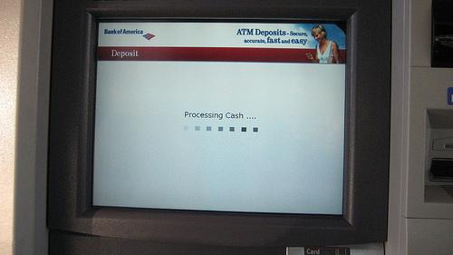 Processing cash