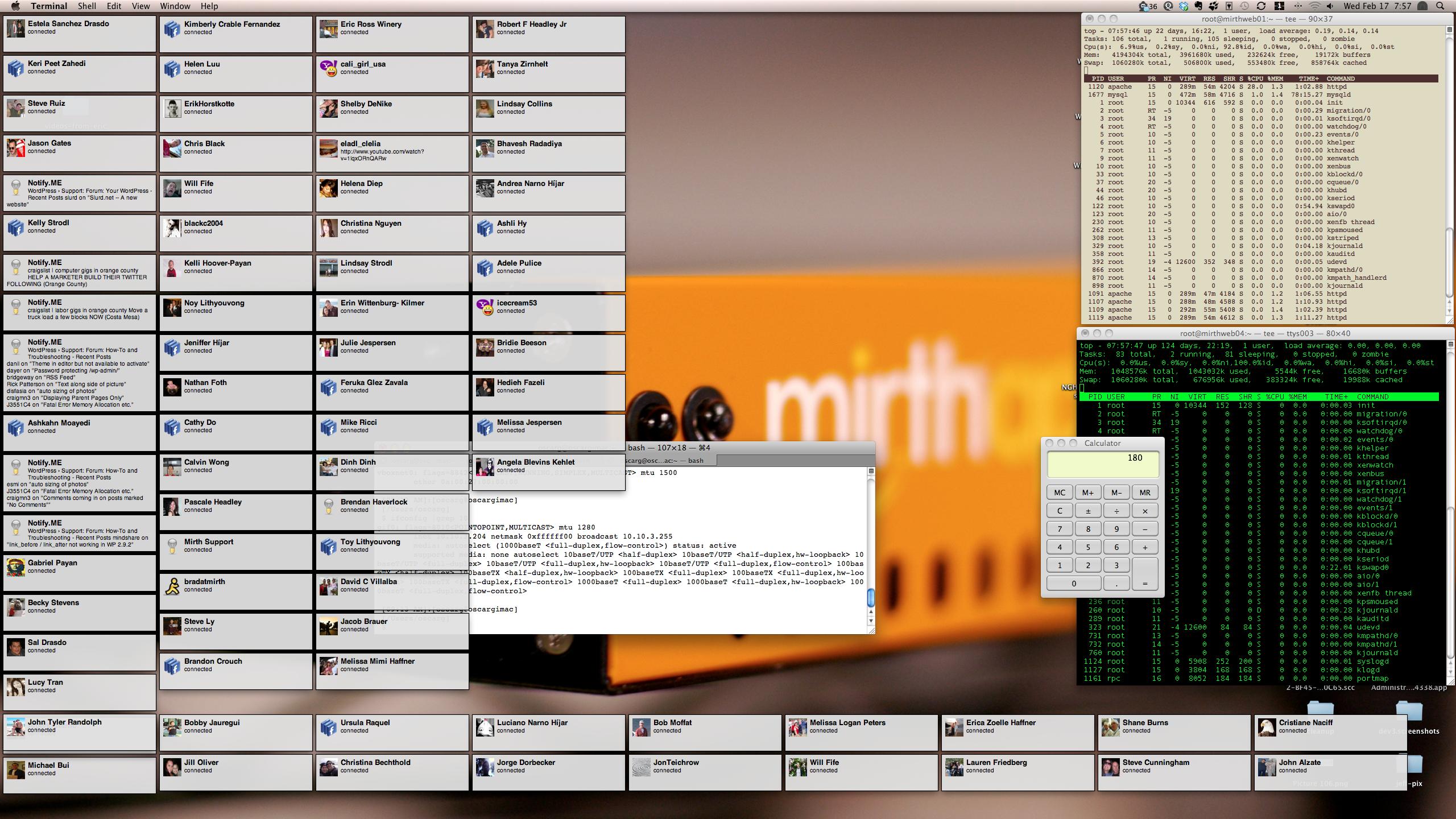 Growl notifications on desktop