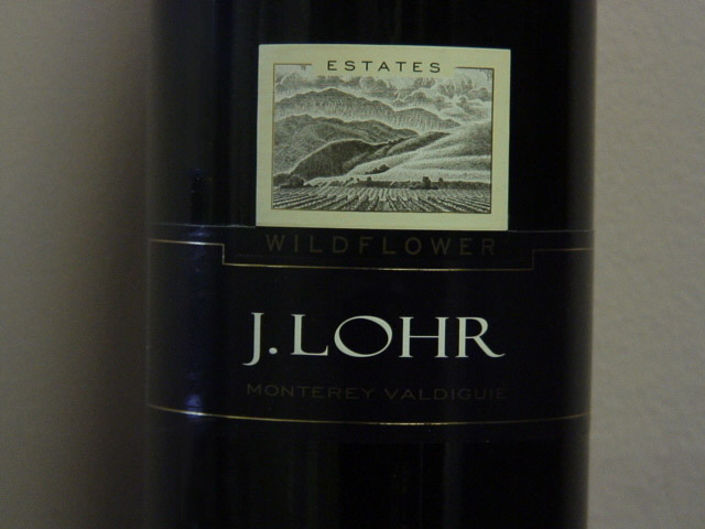 J. Lohr Estates Wildflower Valdiguie 2007