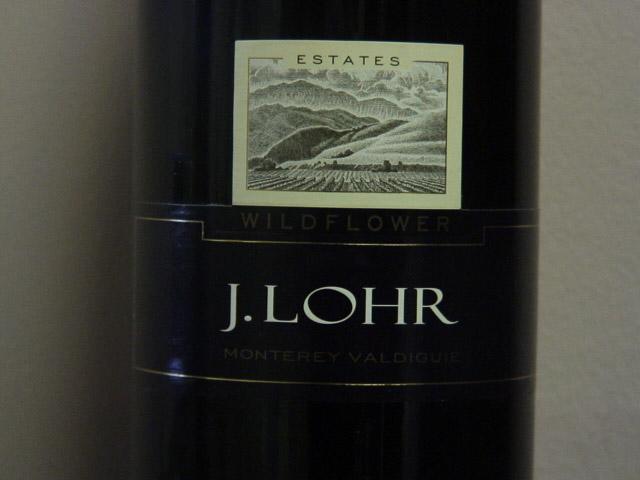 J. Lohr Estates Wildflower Valdiguie 2007