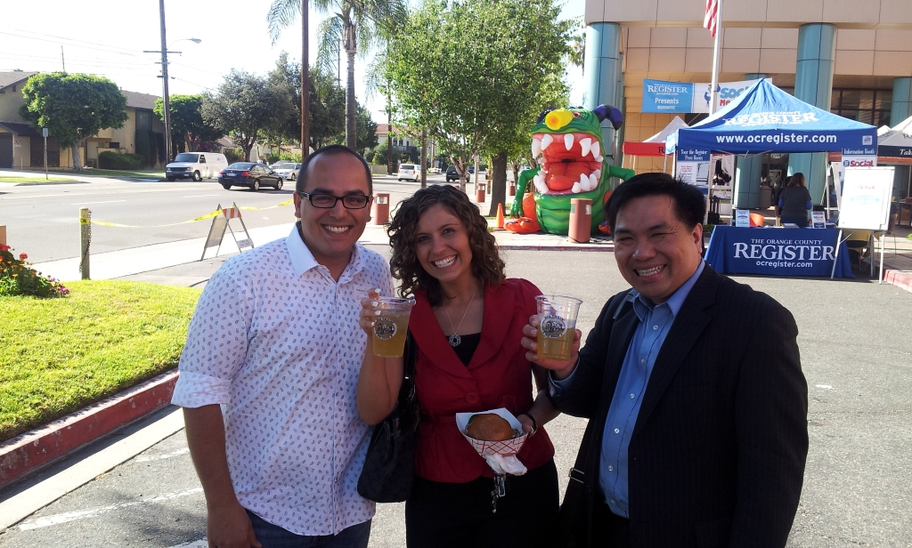 Rochelle Veturis and Ted Nguyen with me