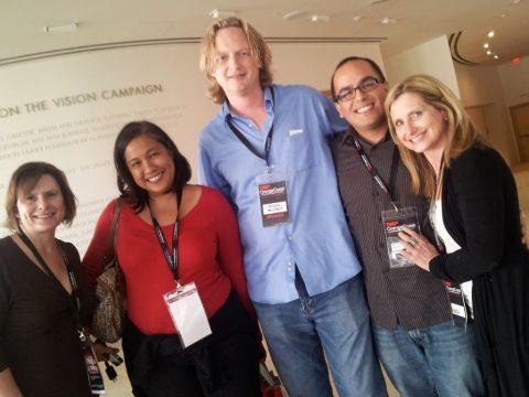 With Nigel Nisbet, Marla, Marcie & Carol