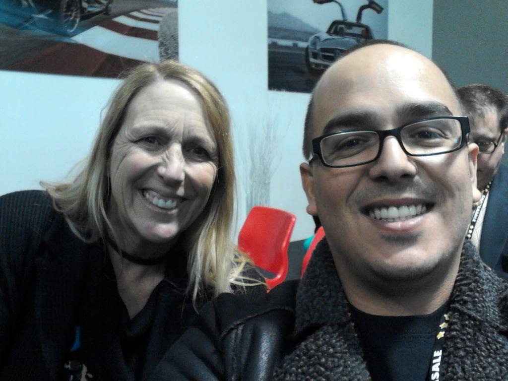 Debra Farris and me