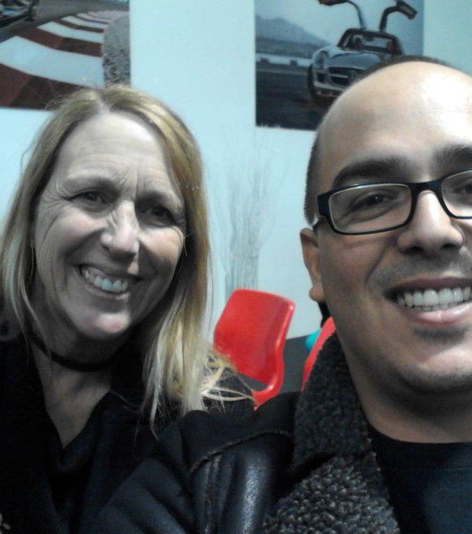Debra and me