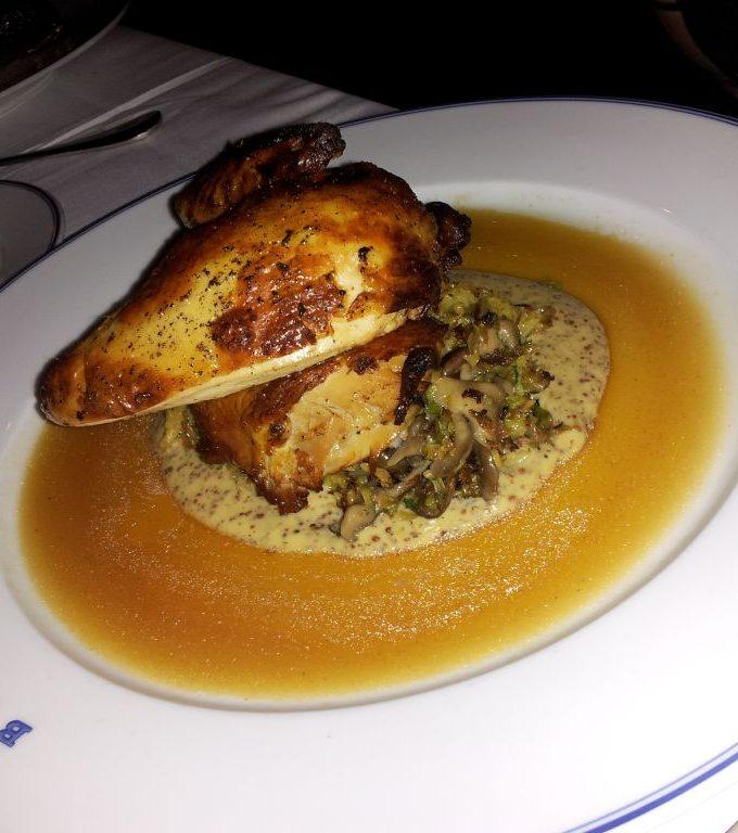 Chicken at Bouchon