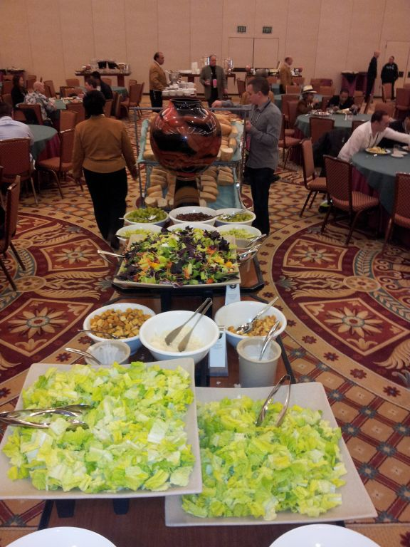 Food Bar at Affiliate Summit West