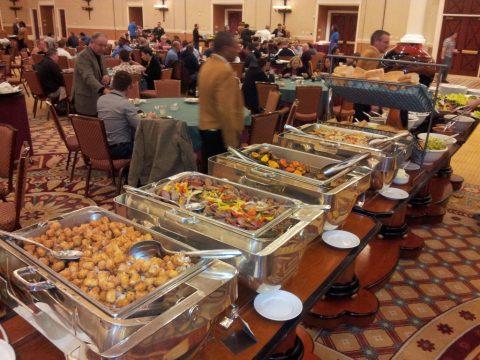 Food Bar at Affiliate Summit West