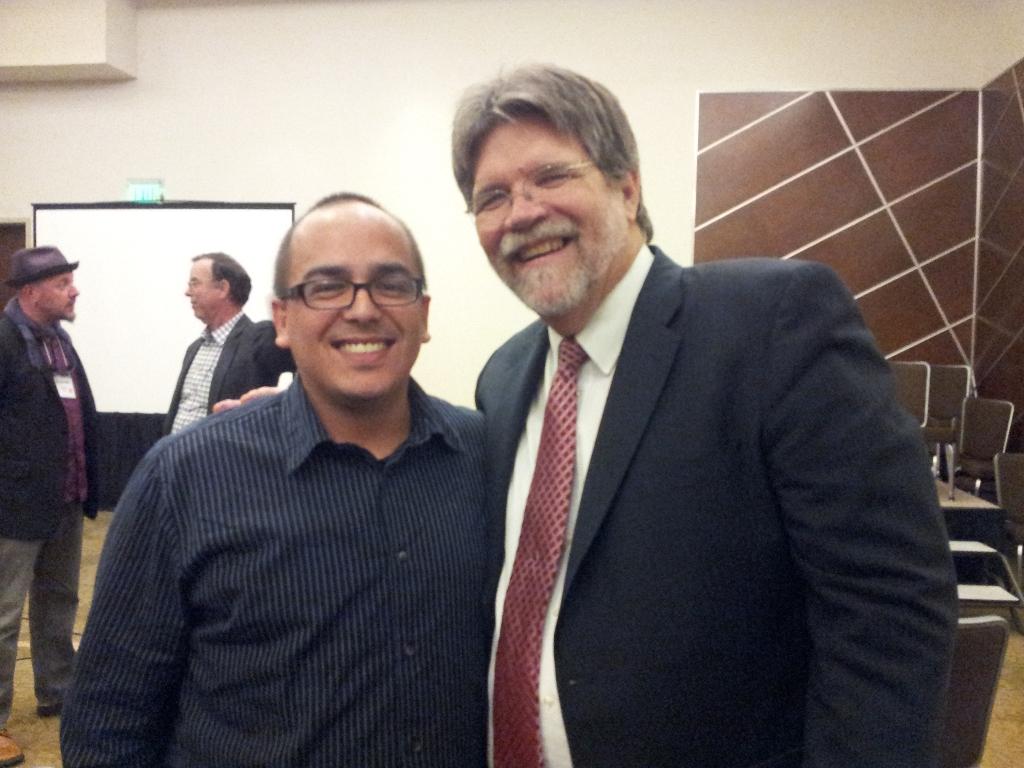Ken Mcarthur and Oscar Gonzalez