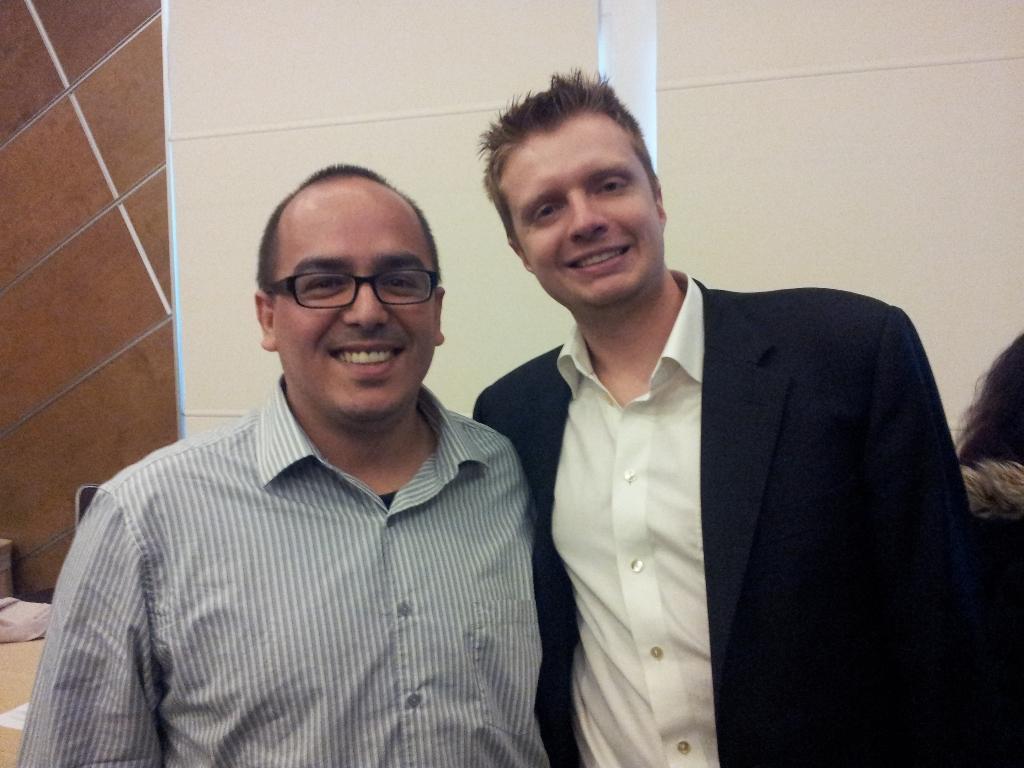Robert Plank and me
