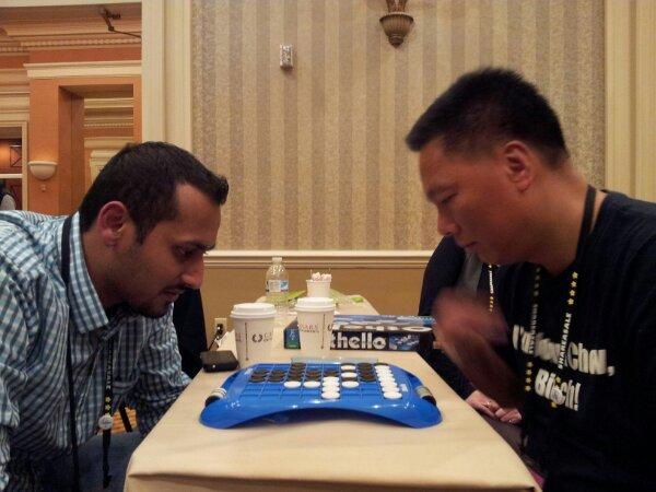 John Chow vs Syed Balkhi #ASW13 Othello Annual Match