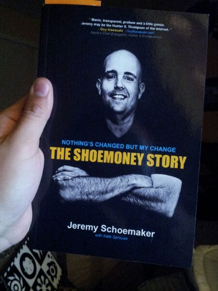 Picture of a book The Shoemoney Story