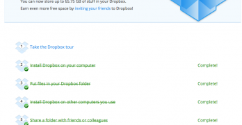 Dropbox just gave me almost 50 GB of free storage.
