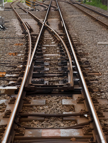 Link redirect systems work like  a railroad track switch.