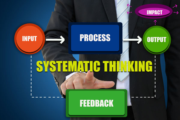 Building a system requires systematic thinking and gradual adjustments.