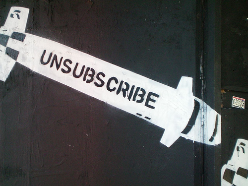 unsubscribe photo
