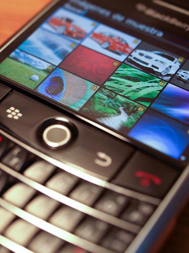 Hasta la Vista Blackberry. It's been good.