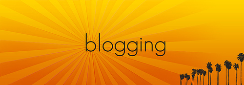 blogging photo