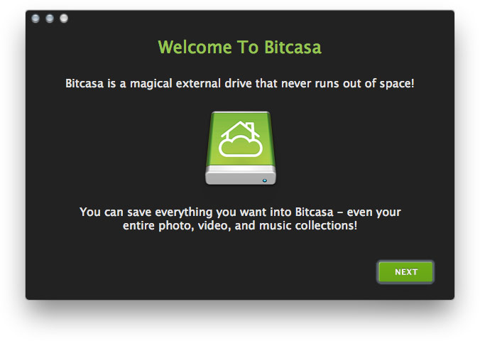 Bitcasa Updates client, Finally ads Bandwidth Throttling