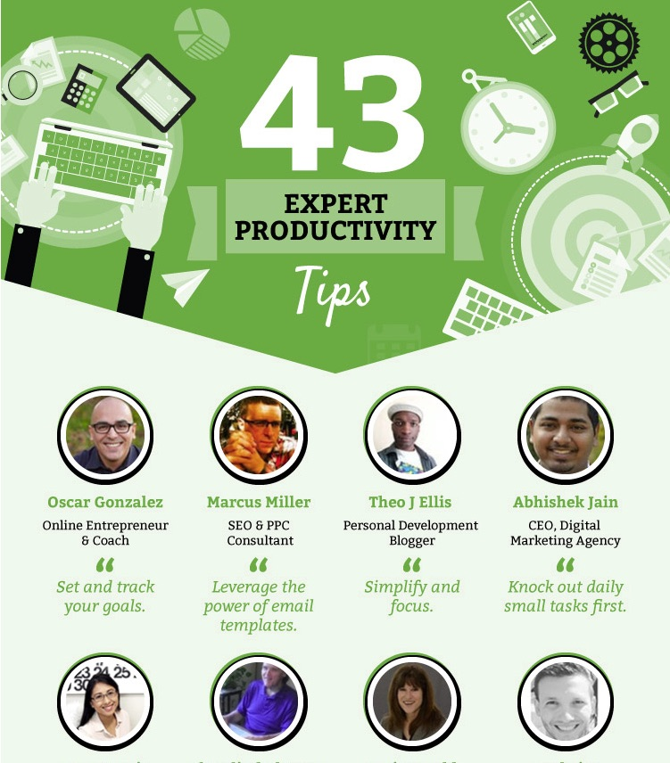 The Best Productivity Tips from 43 Experts