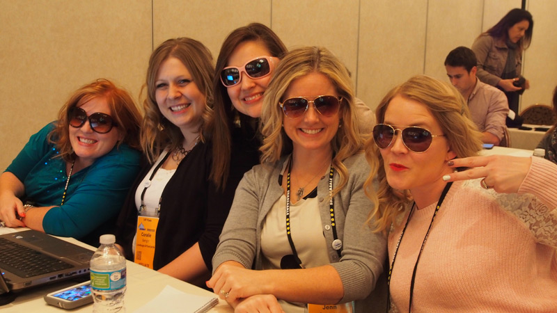 Super bloggers attending the Rise of the Six Figure Entrepreneur Session at #ASW15
