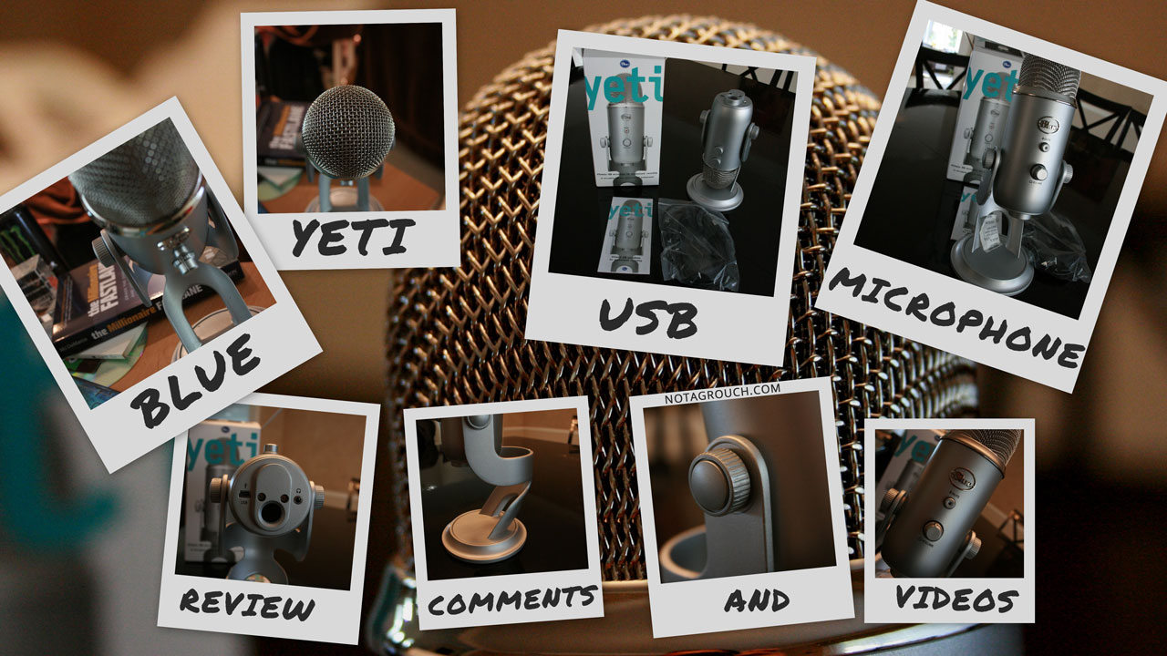 Blue Yeti USB Microphone Review & Comments