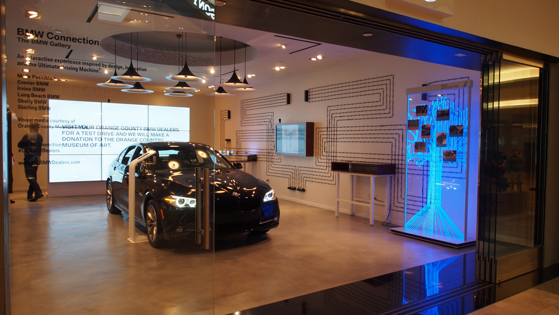 BMW store at South Coast Plaza