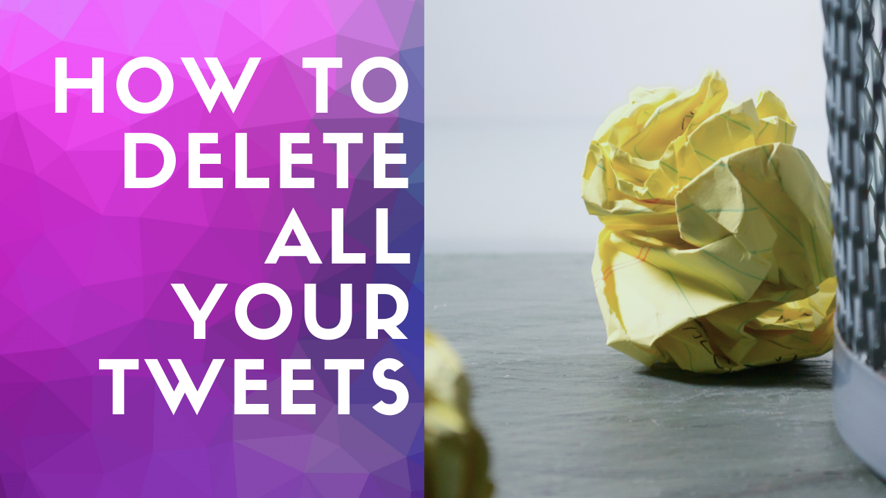 "Cover to the article ""How to delete all your tweets"""