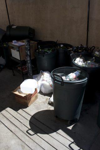 different bins