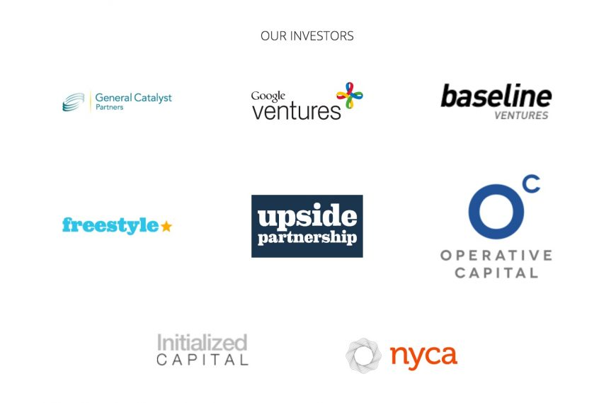 various logos of the companies investing on Digit.co