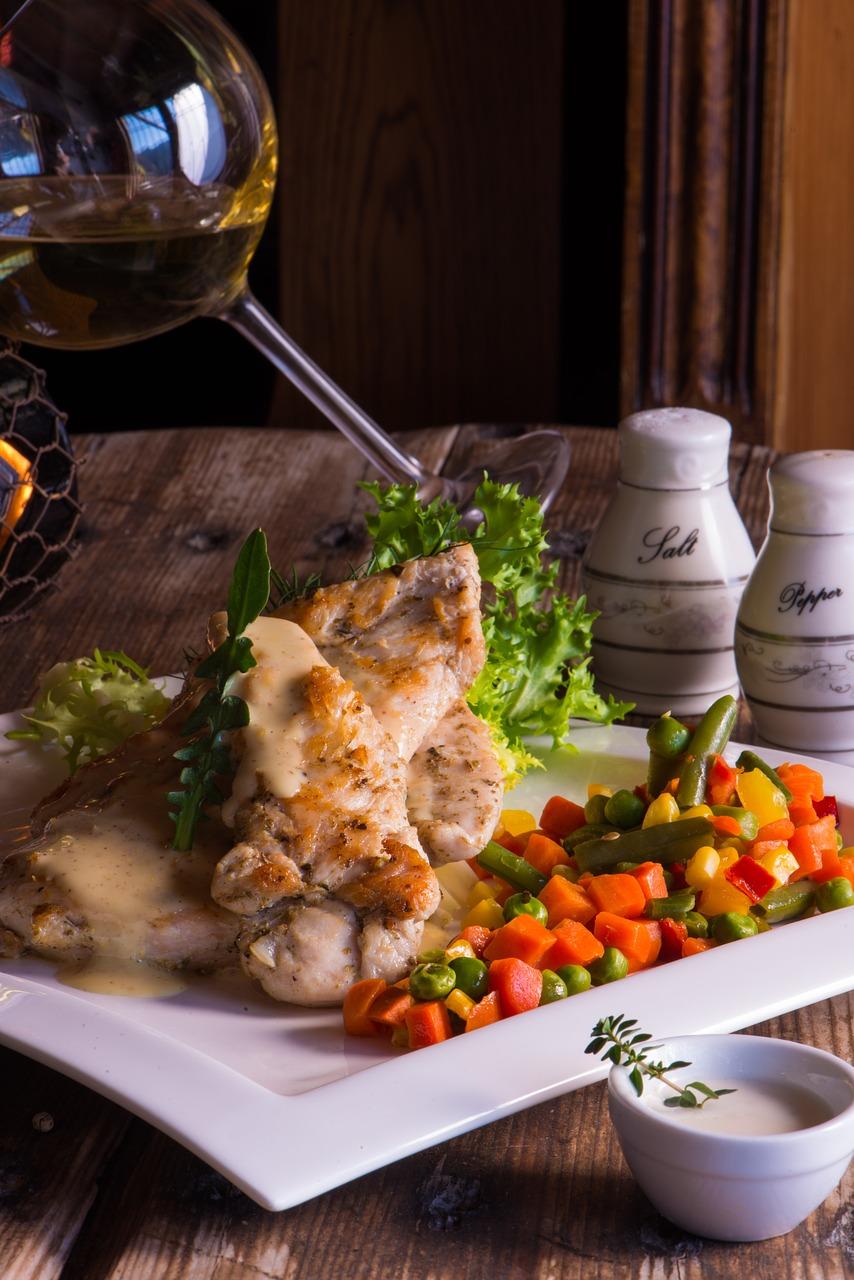 food and wine photo