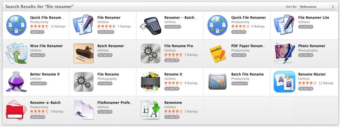 File Renamer for Mac, Free Download