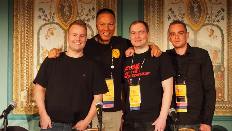 John Rampton, John Chow, Zac Johnson, Matthew Woodward