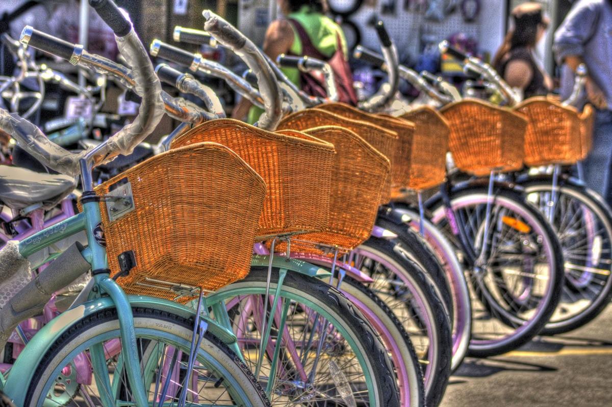 Bikes in OC