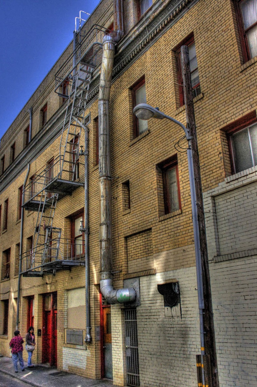 San Francisco Alley building