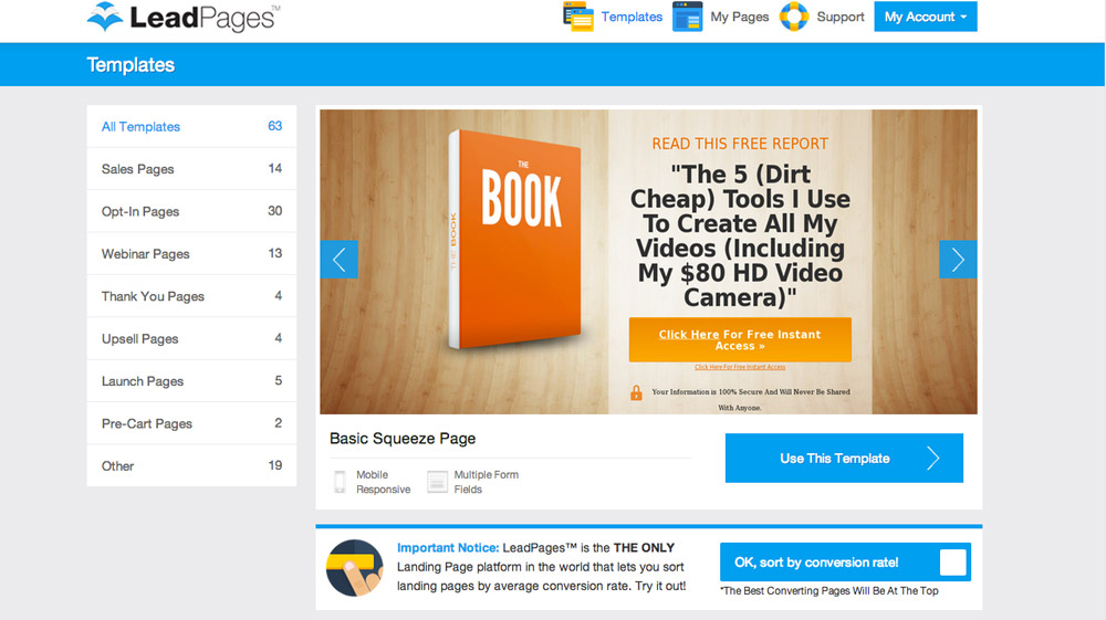 Landing Pages and Email Generate Sales
