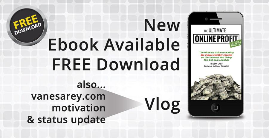 Ultimate Online Profit Model Book Vlog