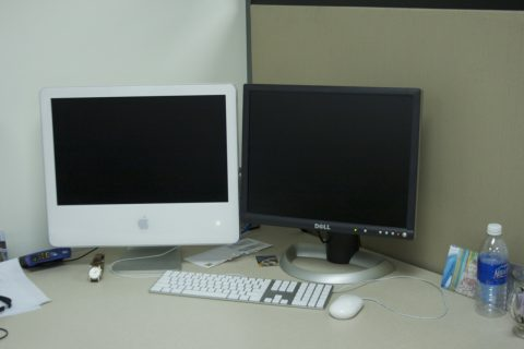 older-imac-and-dell