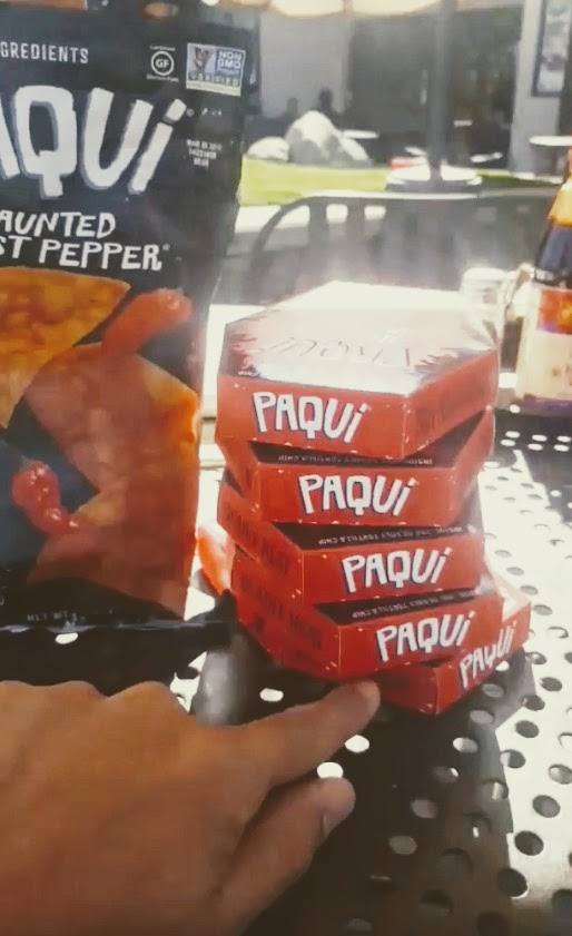 The One Chip Challenge from Paqui #onechipchallenge