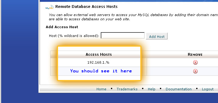 Access Hosts