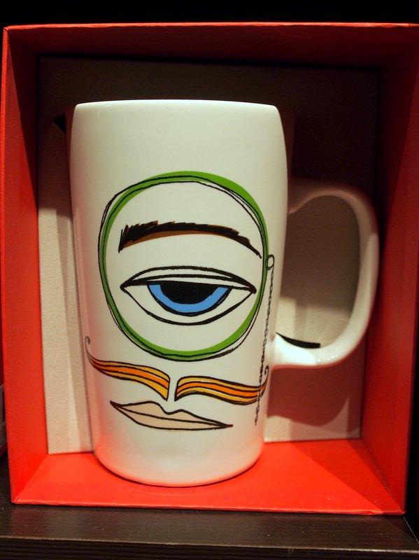 starbucks mug monocle