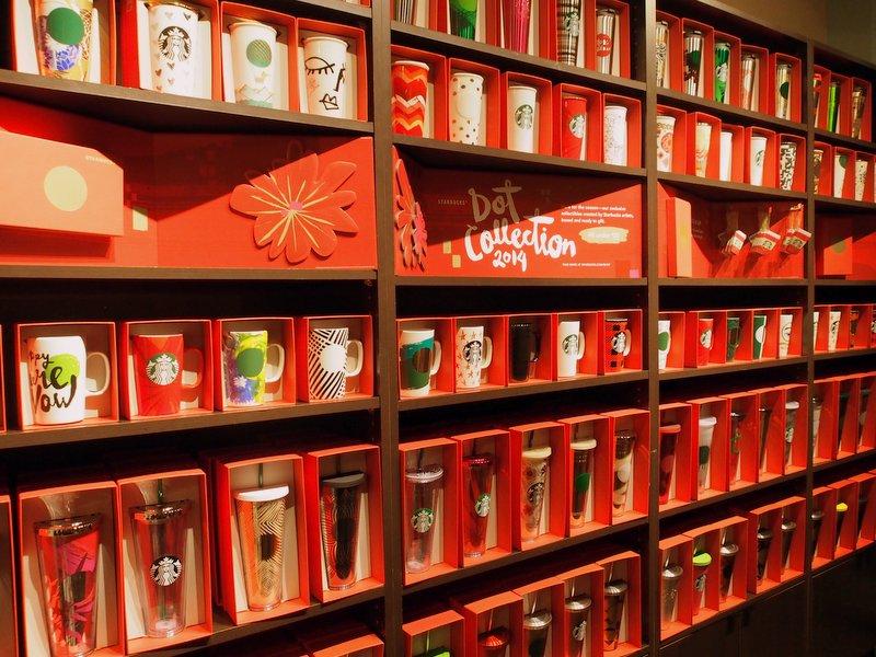 Dot Collection at Starbucks