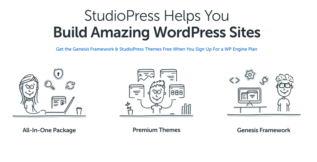The 1 Reason Genesis Themes Makes It Easier to Get Started With WordPress Quickly.